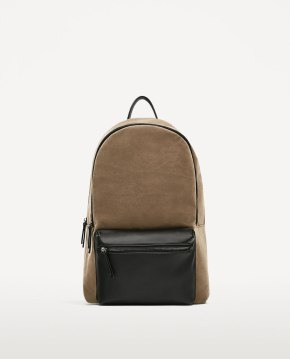"BEIGE BACKPACK FOR 13"" LAPTOP"