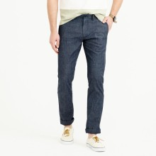 Chambray stretch chino pant in 484 fit