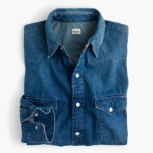 Chimala® western denim shirt
