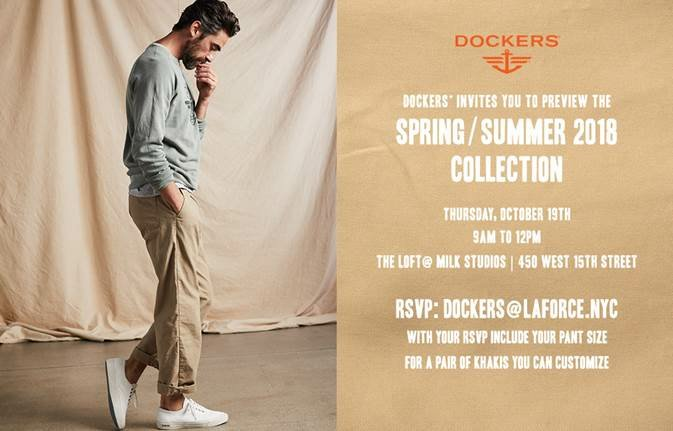 Dockers Spring Summer 18 Preview Collection.